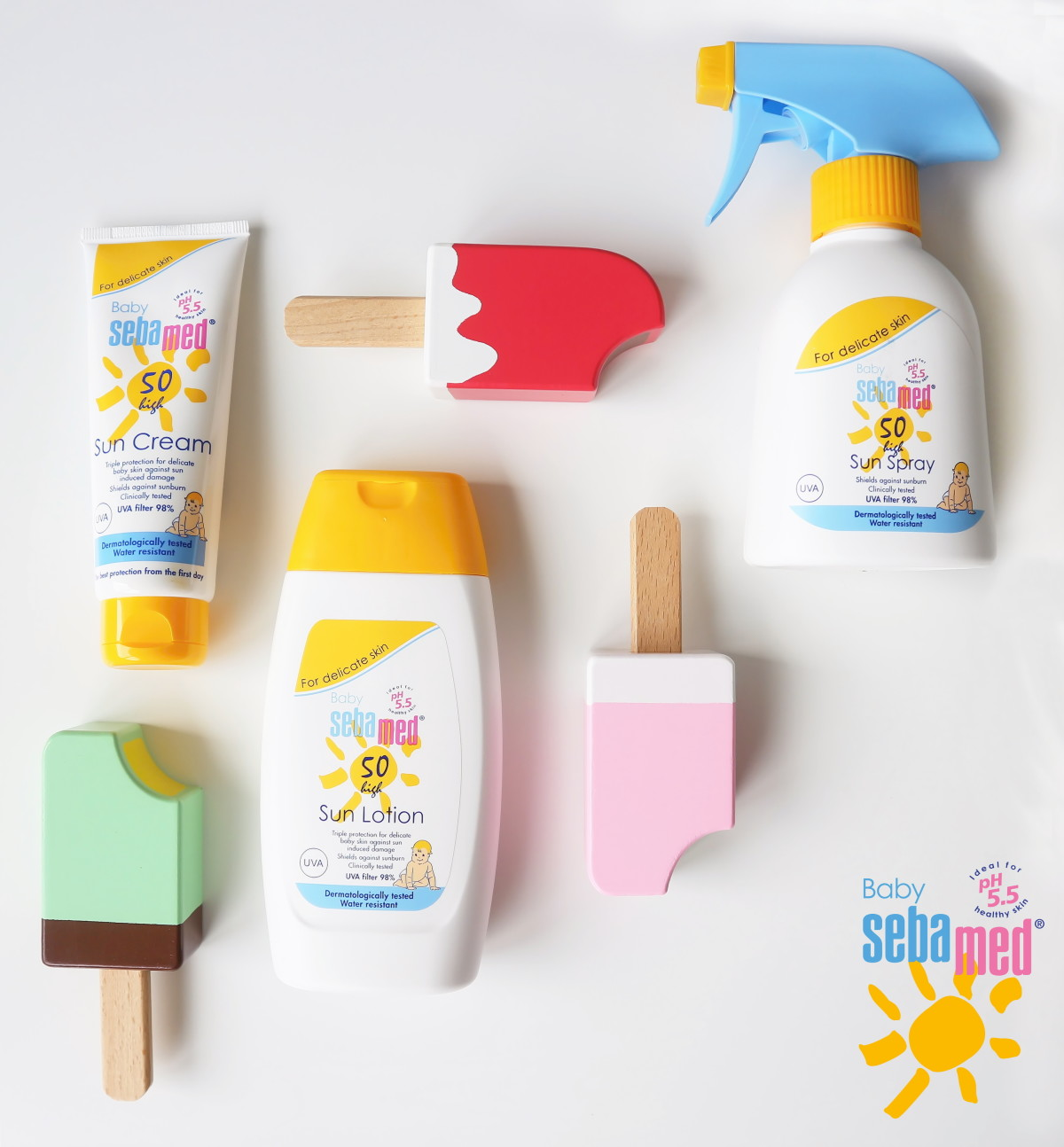 Baby sebamed sun care